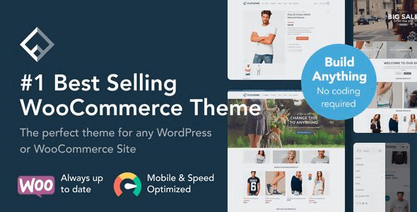 Flatsome Nulled – Multi-Purpose Responsive WooCommerce Theme